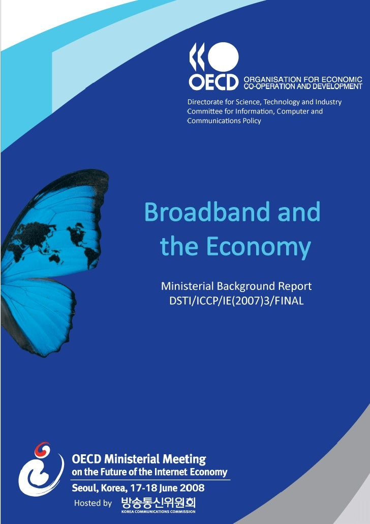 Broadband and the economy oecd june 2008