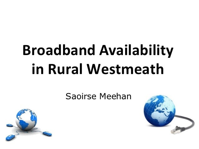 Broadband availability in Rural Westmeath