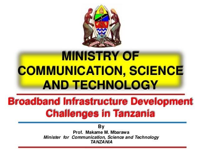 Broadband Infrastructure Development Challenges in Tanzania