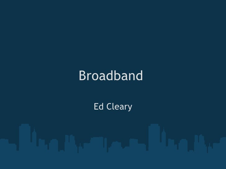 Broadband In My Area