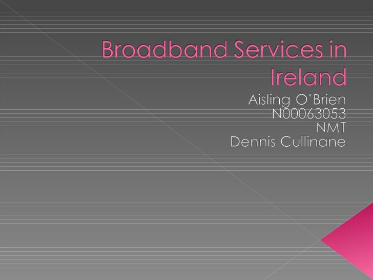 Broadband Services In Ireland[1]
