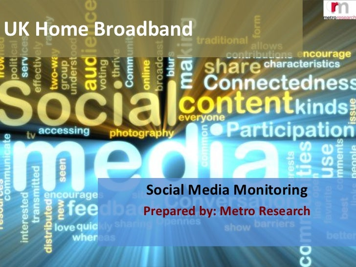 Broadband quality - social media monitoring