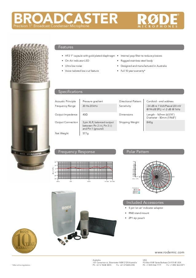 "M3Multi Powered 3/4"" Condenser Microphone•	 HF2 1"" capsule with gold plated diaphragm•	 On-Air indicator LED•	 Ultra low n..."