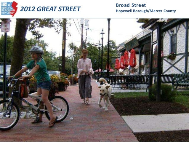 2012 GREAT STREET Broad Street Hopewell Borough/Mercer County