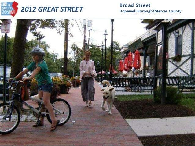 2012 Great Street - Broad Street (Hopewell Borough, Mercer County)