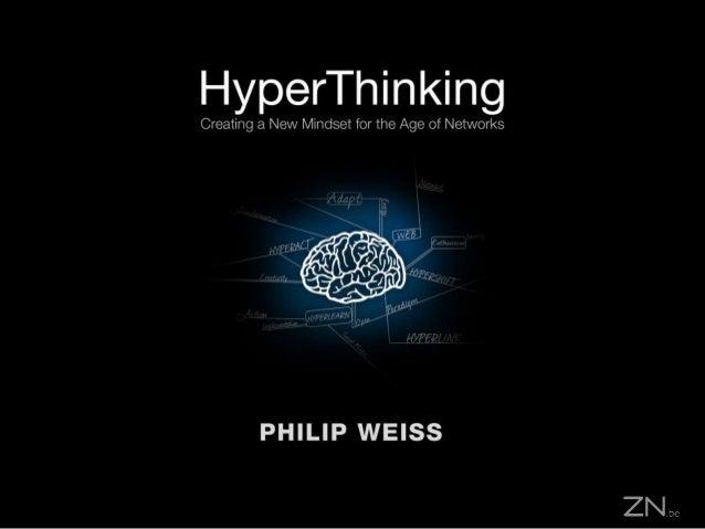 Hyperthinking Presentation for the Brainyard Webinar
