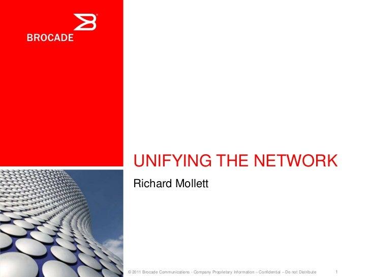Brocade powering communications & collaboration