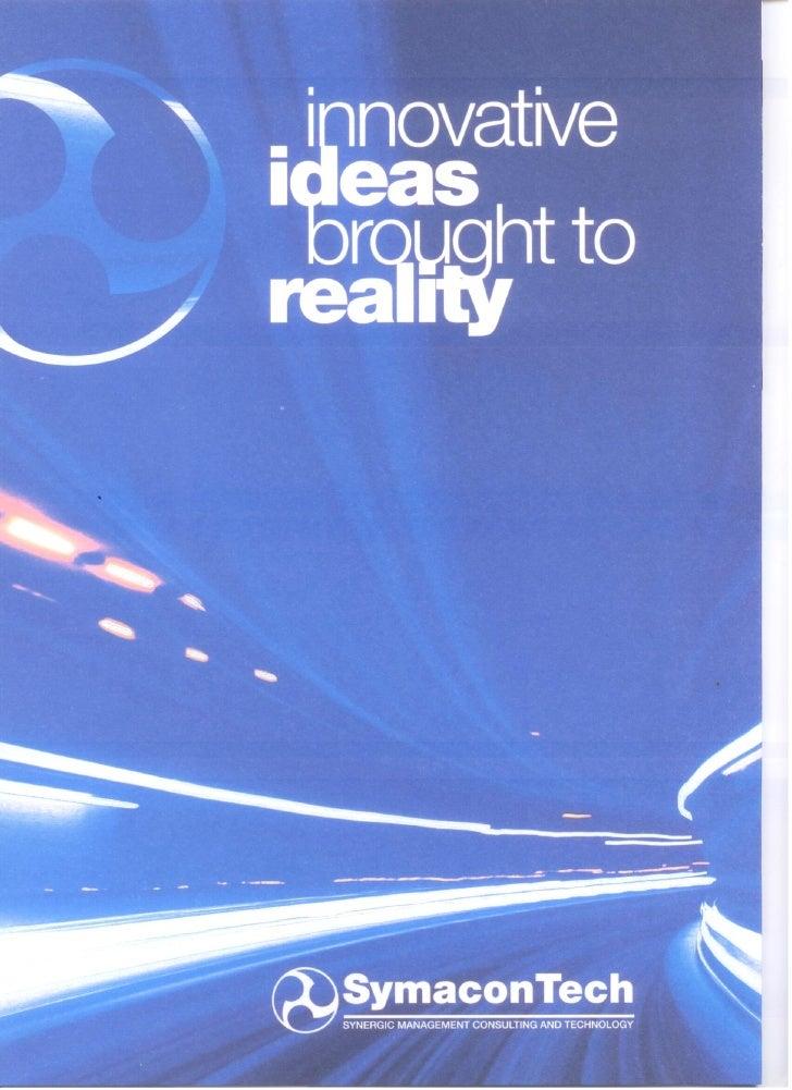 Brochure Italian and English