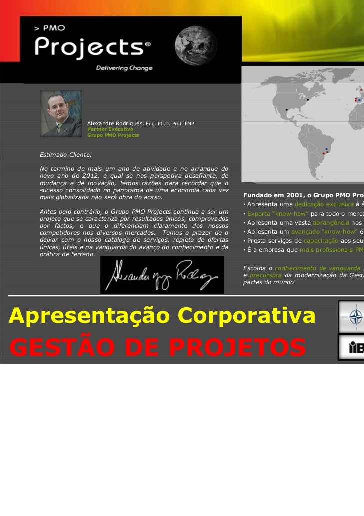 PMO Projects - Apresentação Corporativa