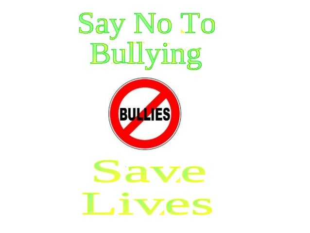 Stop Bullying, Save Lives