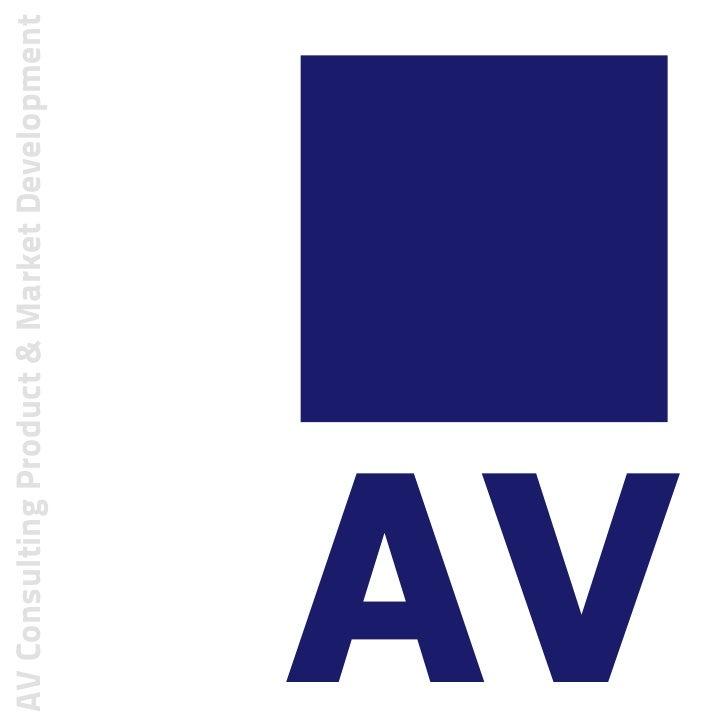 AV Consulting Product & Market DevelopmentAV