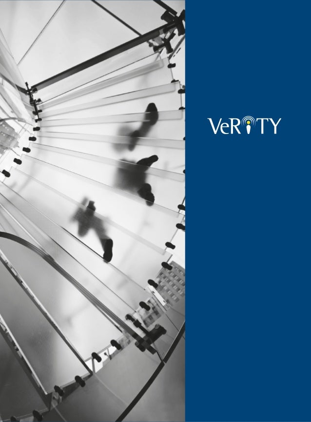 Corporate Brochure - Verity Consulting Limited