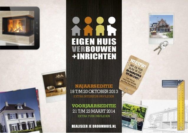 Brochure eigen huis ver bouwen inrichten for Ver eigen huis