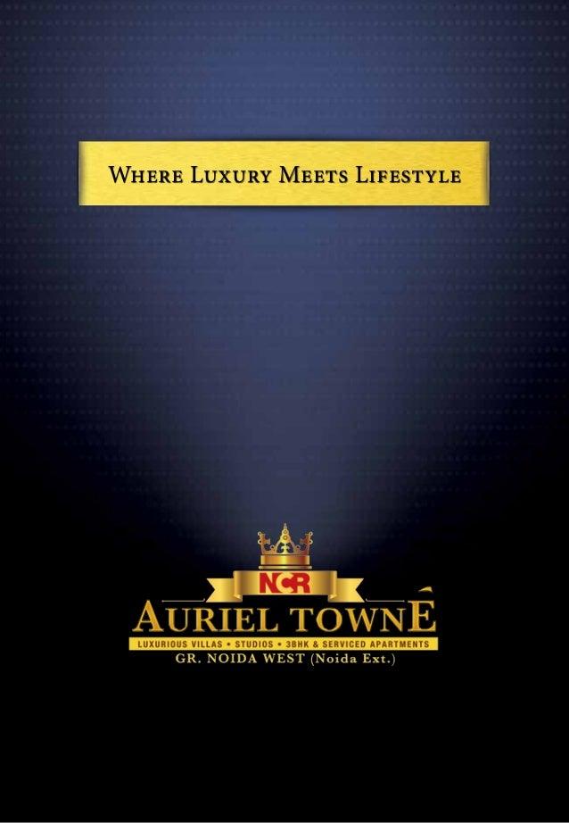 NCR Auriel Towne in Noida Extension, Price List, Layout Plan, Floor Plans - 7827005222