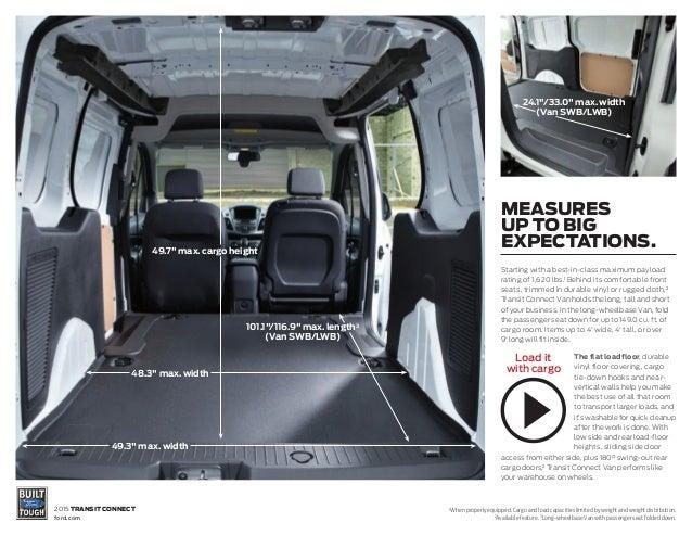 2015 Ford Transit Connect Brochure Farmington Ford