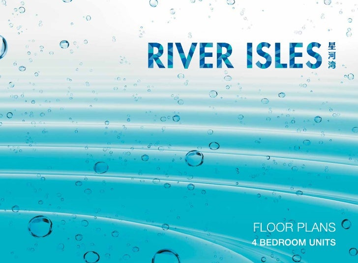 River Isles Brochure For 4 Bedroom Unit