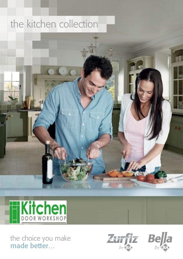 Kitchen Door Workshop - Bella & Zurfiz Ranges