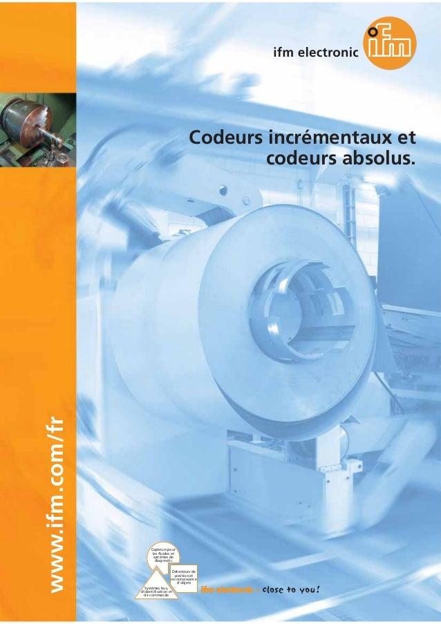 Capteurs pour les fluides et systèmes de diagnostic Systèmes bus, d'identification et de commande Détecteurs de position e...