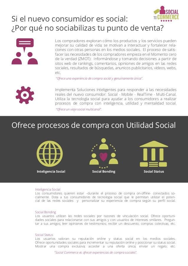 Si el nuevo consumidor es social: ¿Por qué no sociabilizas tu punto de venta? Ofrece procesos de compra con Utilidad Socia...