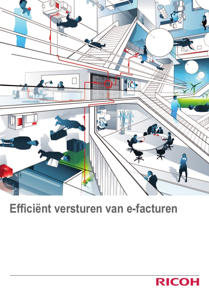 Efficient versturen van e-facturen met Ricoh