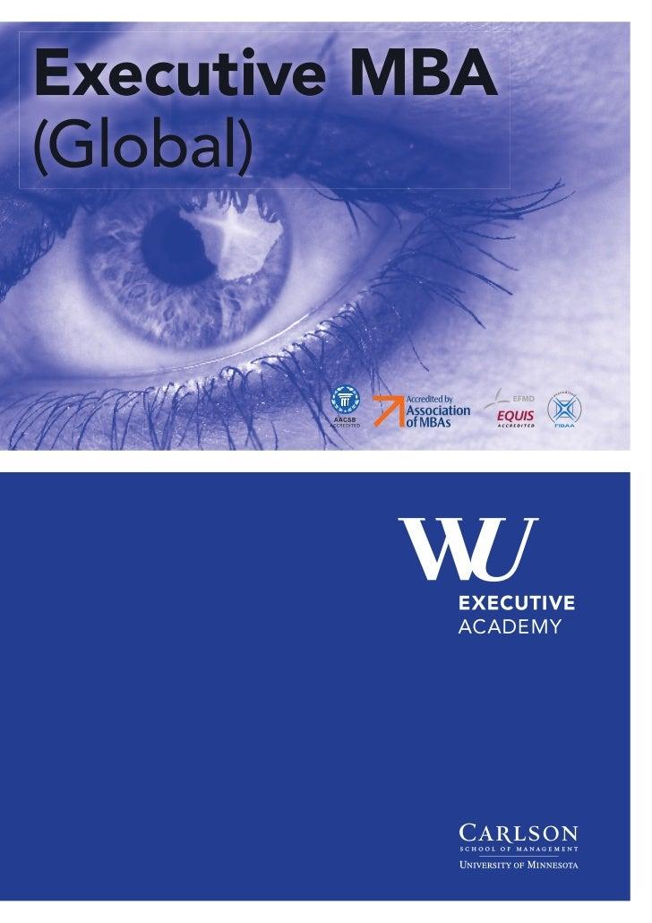 Executive MBA(Global)