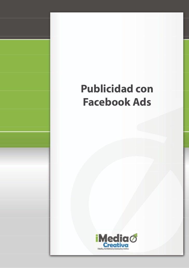 Publicidad conFacebook Ads