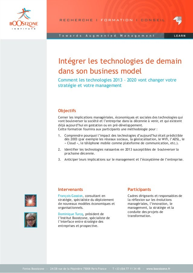 Fenixs Boostzone - 24/28 rue de la Pépinière 75008 Paris France – T +33 (0)6 77 11 34 48 - www.boostzone.frIntégrer les te...