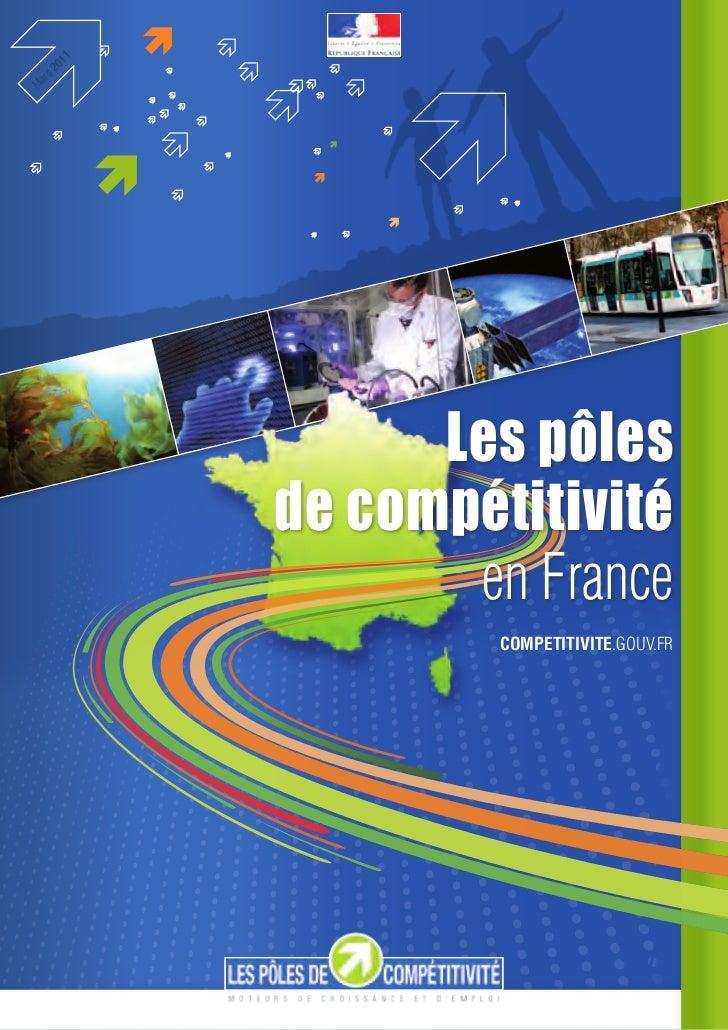 1   2 01rsMa                Les pôles          de compétitivité                 en france                   competitivite....
