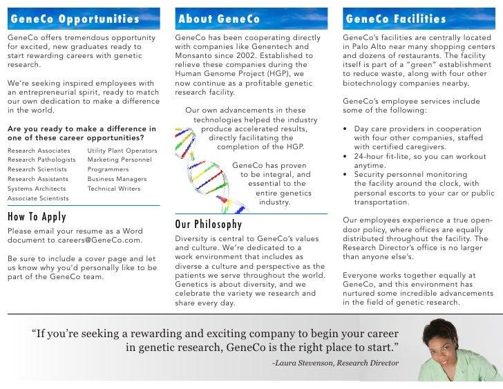Brochure   geneco