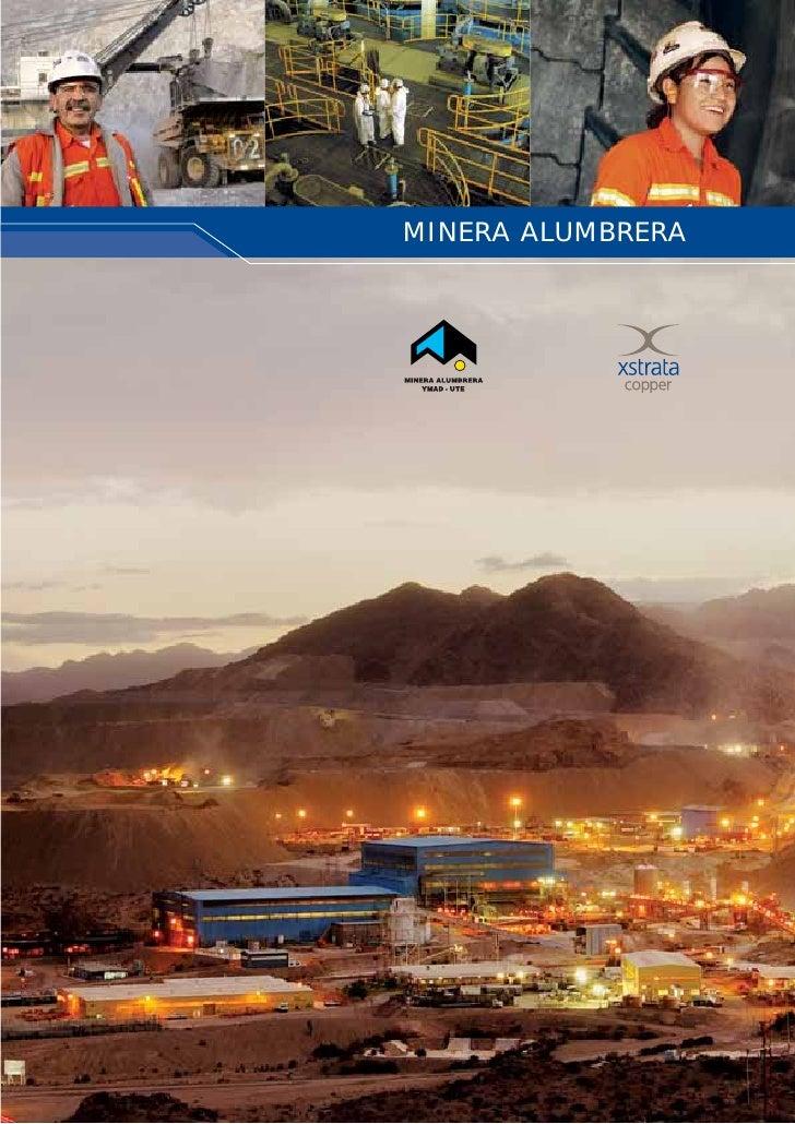 Folleto Institucional Minera Alumbrera