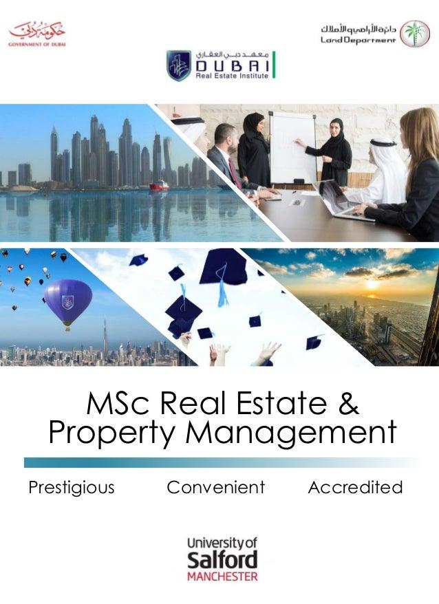 Dissertation in real estate management system
