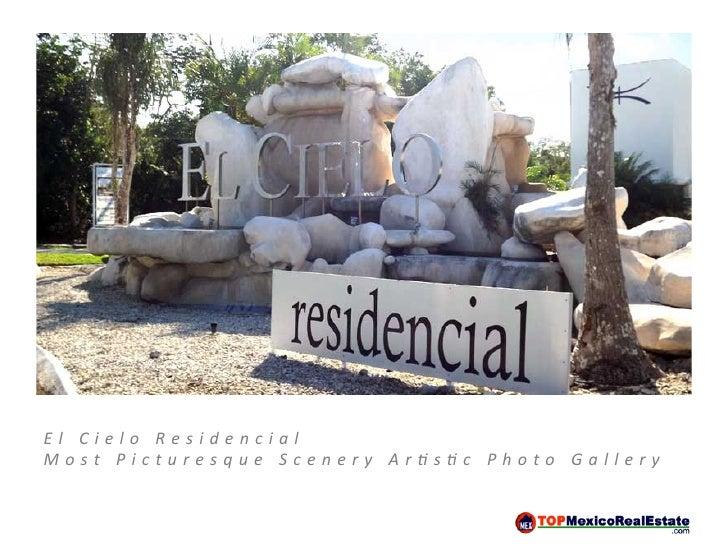 El Cielo Community Gallery - Brochure
