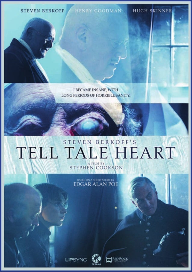 a comparison of the tell tale heart by edgar allan poe and the film of the same name Nicholson had high praise for everyone he worked with on the film except for the raven himself,  edgar allan poe the raven (1963)  the tell-tale heart (1941).