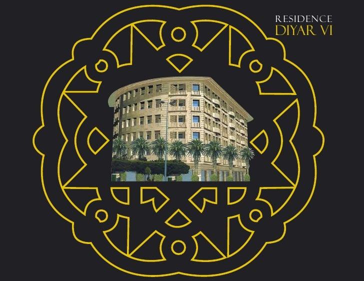 Brochure diyar vi achat appartement casablanca for Achat maison casablanca