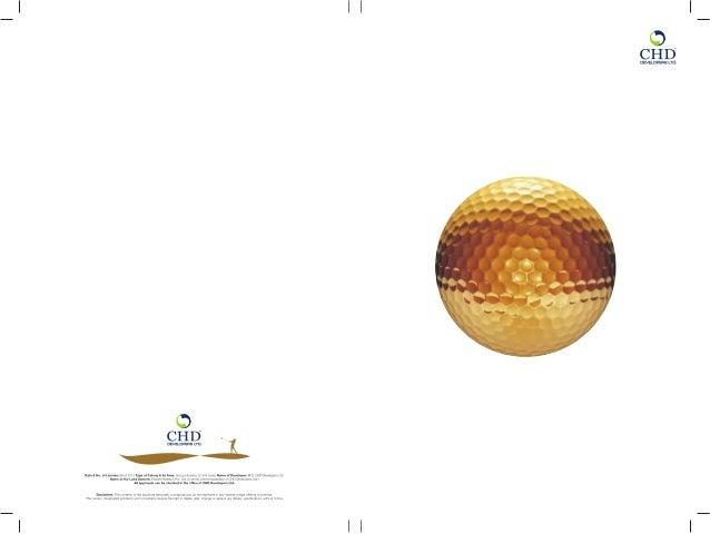 urgent sale chd golf avenue sector 106 ,size-1183@5000 per sq.ft more details-7042000548