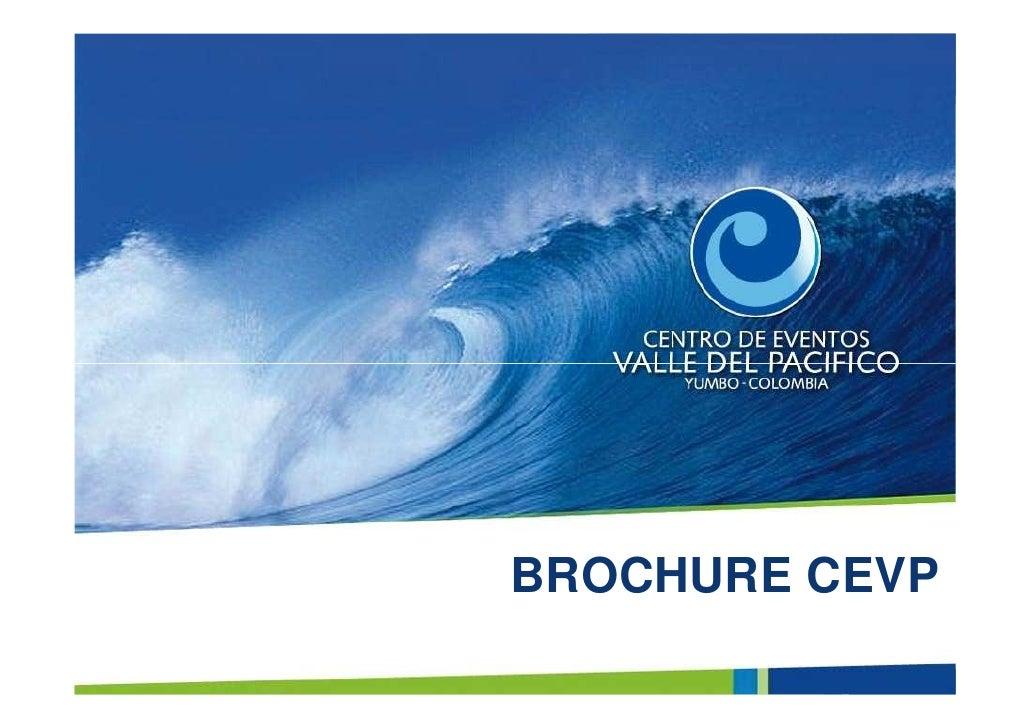 Brochure Centro de Eventos Valle del Pacífico
