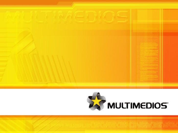 Brochure 2007 Empresa Multimedios