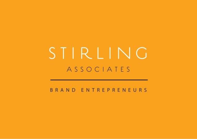 Stirling Associates Brochure 2013