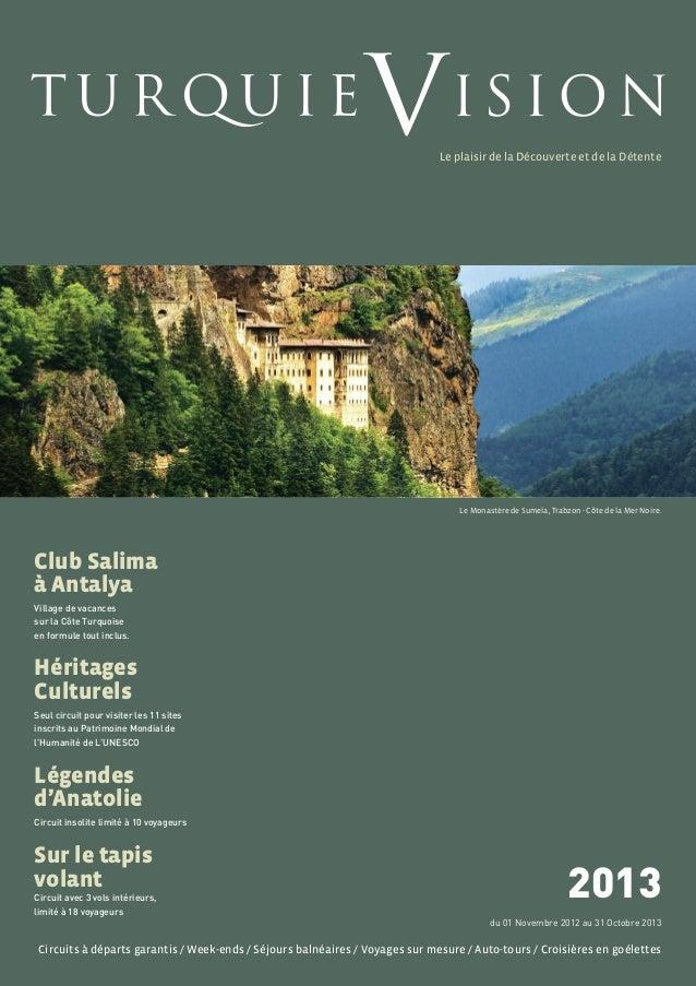 Le Monastère de Sumela, Trabzon - Côte de la Mer Noire.Circuits à départs garantis / Week-ends / Séjours balnéaires / Voya...