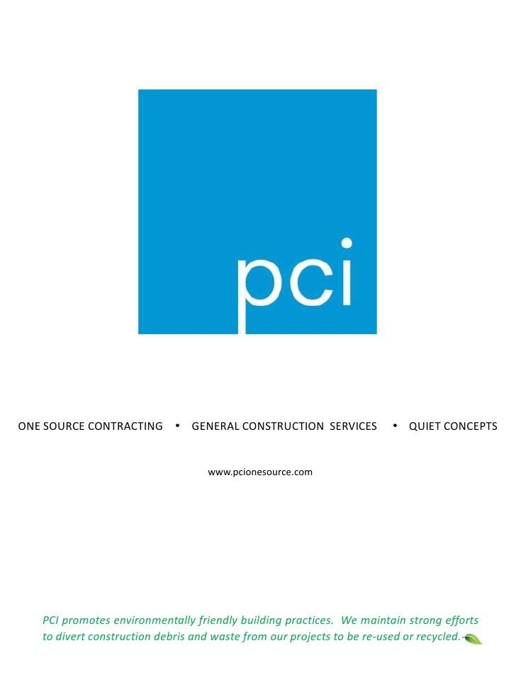 PCI Company Brochure