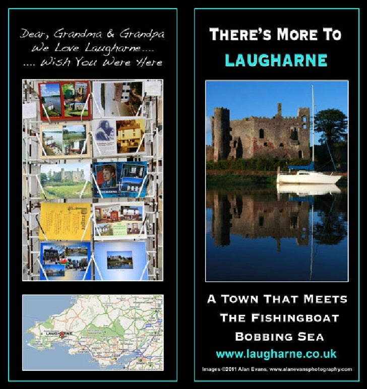 Tourism Brochure Laugharne
