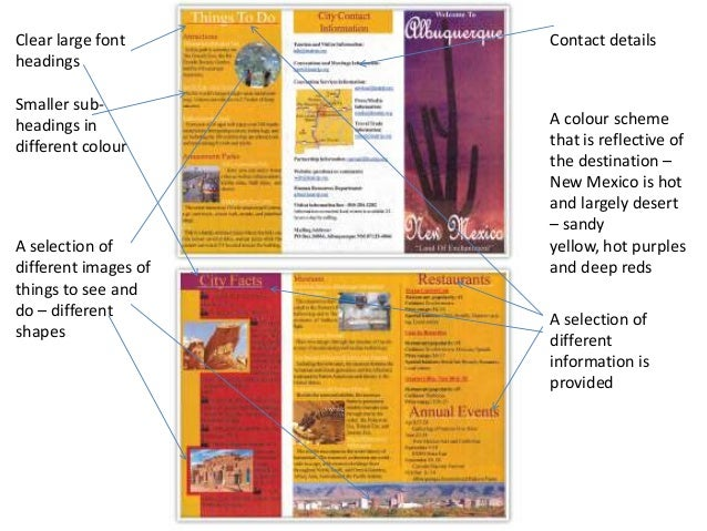 pamphlet structure
