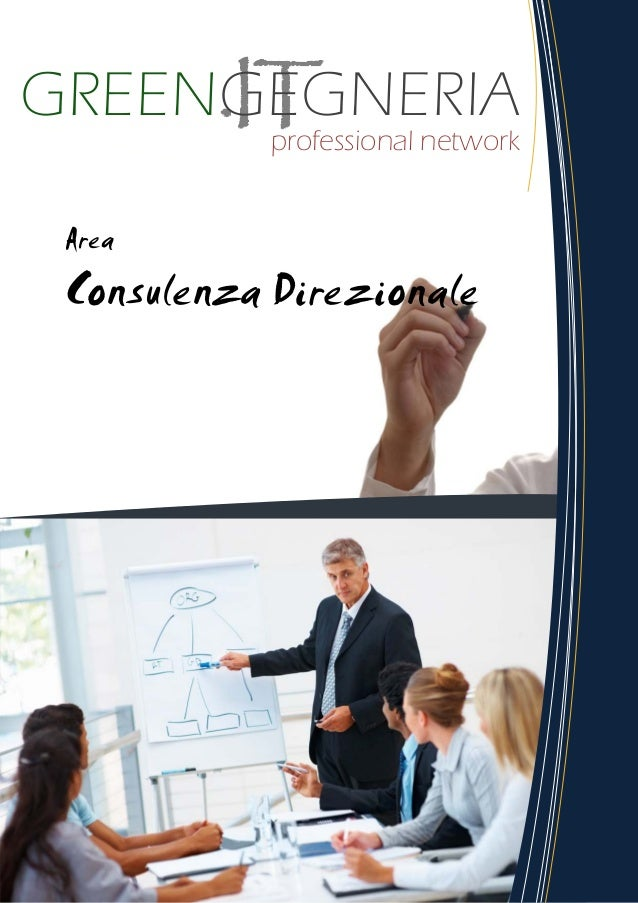 GREENGEGNERIA Professional Network - Area Consulenza Direzionale