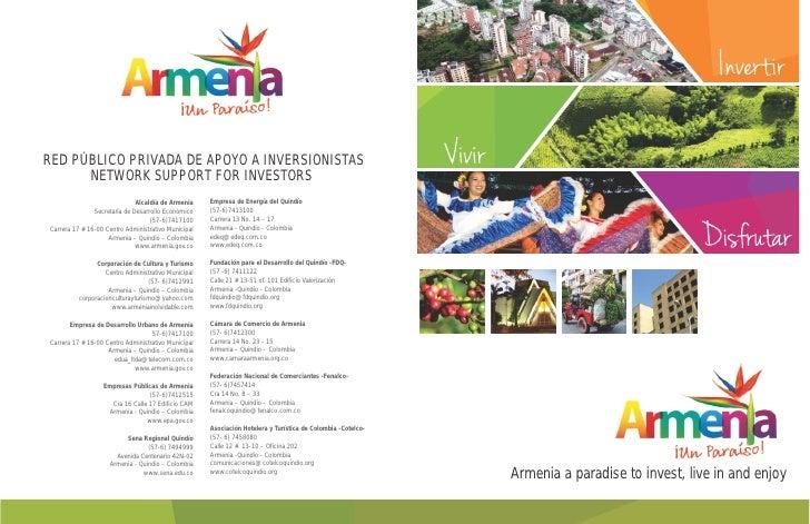 Brochure armenia