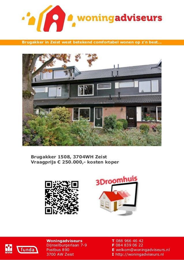 Brochure brugakker 1508 zeist