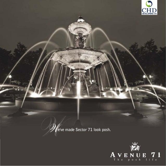 sale chd avenue sector-71 gurgaon size-1743@6500 per sq.ft contact-7042000548