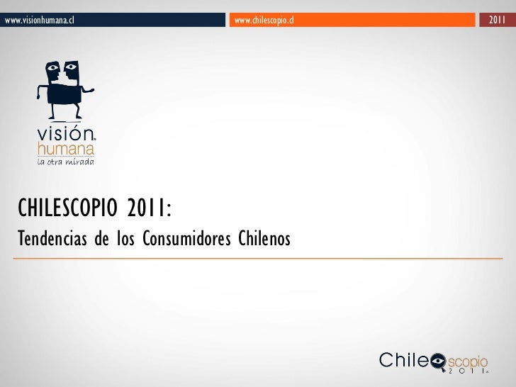 Brochure chilescopio 2011