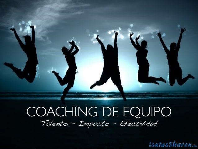 Brochure Coaching de Equipo