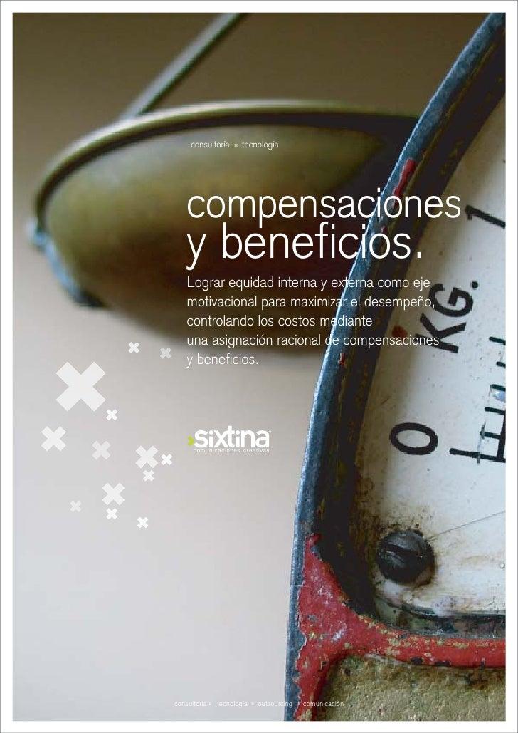 Brochure Compensaciones y Beneficios