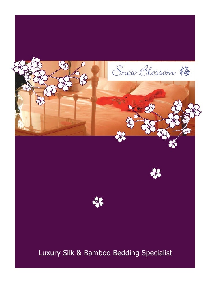 Snow Blossom mini brochure